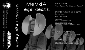 mevda-ego death - split tape cover